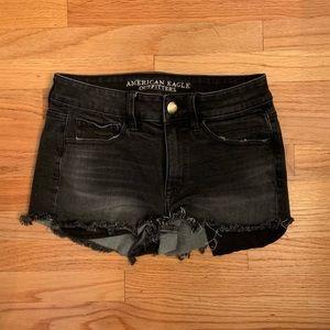 American Eagle High-Rise Shortie Shorts 4